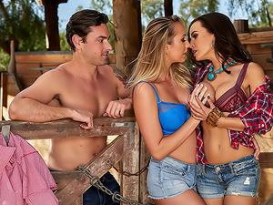 Lisa Ann's Cowgirl & Cowpoke Threesome