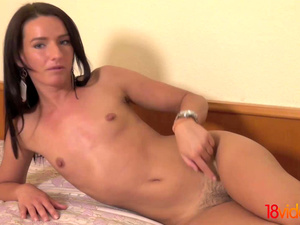18 Videoz - Promesita - Naked gymnastics and sex