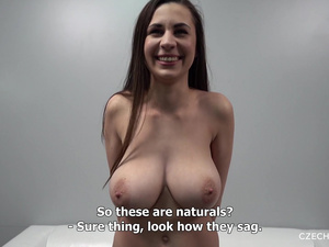 Wonderful 19 Years Old Beauty with Huge Natural Tits