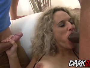 Hot Amelie Matis gets anal sex from BBC