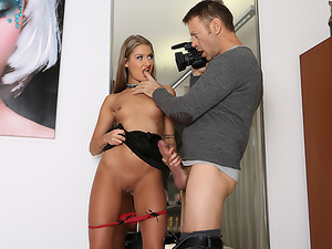 Rimming Tiffany's Huge Cock Audition