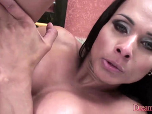 Horny Shemale Chelsie J Blair and a Dude Bang Each Others Butts