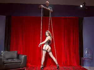 Porn Puppet On A String