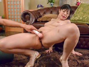 Sweet Nao Mizuki in rough Asian threesome porn play - More at javhd.net