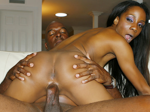Ebony Teen Jayna Lynn Takes Step Daddys BBC to Make up for Her Bad Grades