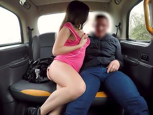 Drivers son fucks Italian hottie