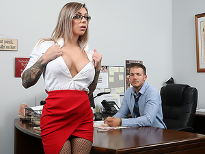 Big Tit Office Chicks #06!!!