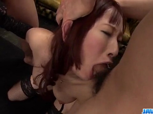 Yui Misaki gets hard pumped in superb modes - More at javhd.net