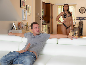 Abella's Big-Cock Pussy & Anal Fuck