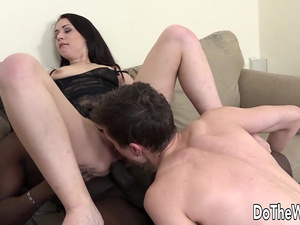 Cuckolding Wife Catrine Love Gets Pumped Full of Black Seed After Anal