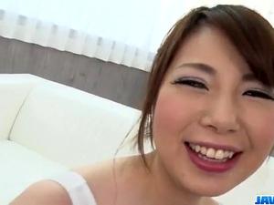 Reika Ichinose soft Japanese threesome scenes - More at javhd.net