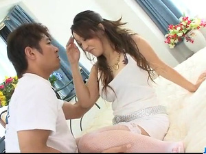 Ruhime Maiori Asian milf fucked in rough ways - More at javhd.net
