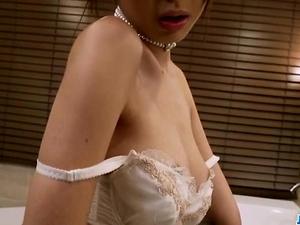 Sensual Anri enjoys a good pussy stimulation - More at javhd.net