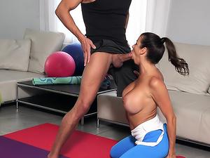 Milf Demands Workout Sex