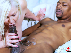 AgedLovE Horny Mature Lady Took Big Black Cock