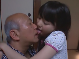 Pretty Asian teen with small tits Marin Aono smacked hard