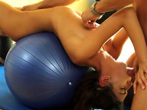 Yoga Deep Throat