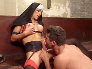 Bad Habits Pray to her cock!
