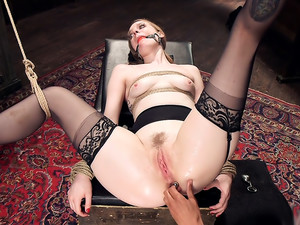 Trained to Fuck with All Holes Filled