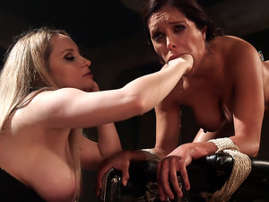 The Submission Francesca Le surrenders to Aiden Starr