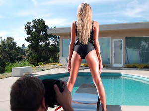 Behind The Scenes With Miss September 2015 Monica Sims