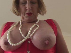 Horny British chubby mama getting very dirty