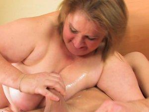 Big Amelia loves sucking and fucking hard