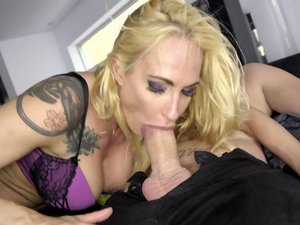 The Legendary Sophie Evans is back as a Cock Hungry Cougar