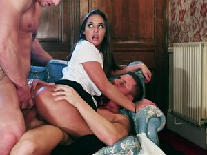 School Girl Amirah Adara Gets Taught a Lesson in Physical Education