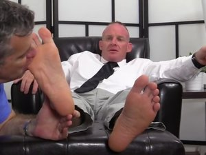 Dean Dev Michaels' Feet & Socks Worshiped - Dev