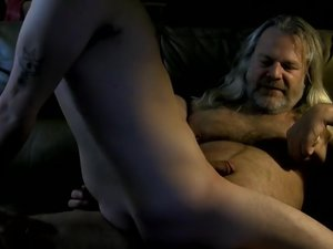 Riding Daddy Dick On Cam - Wyatt Blaze And JS Wild