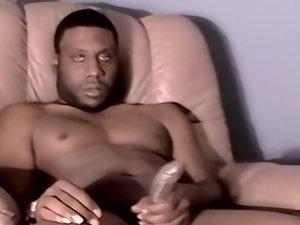Big Black Guy Kel Gets Sucked - Kel