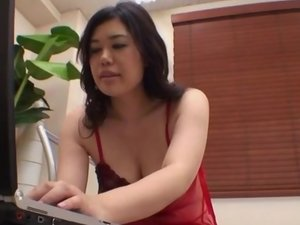 Lingerie model, Yukari, throats and fucks until exhaustion
