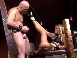 Mistress Nicholette bdsm porn action!