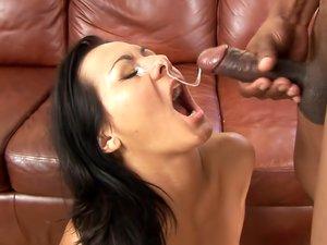 Sandra Romain prefers big black cock