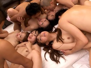 Horny people made group sex feel way better than before