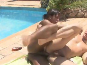 Camila and Eduardo shemale fucks boy video