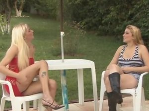 Danny and Milly tranny fucks gal video