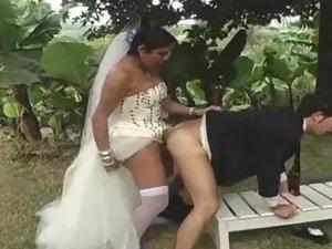 Carol lustful shemale bride